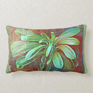 Almofada Lombar Travesseiro verde da planta do cacto