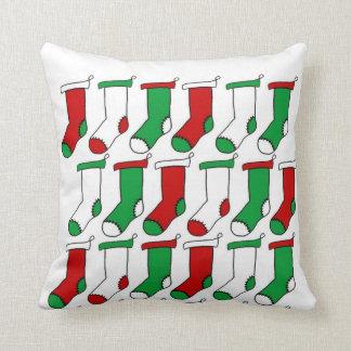 Almofada Meias das meias do Natal