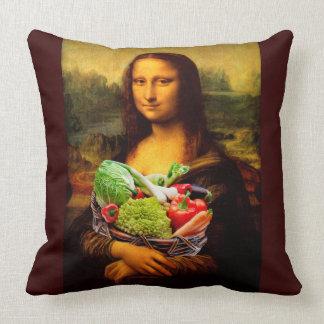 Almofada Mona Lisa ama vegetais