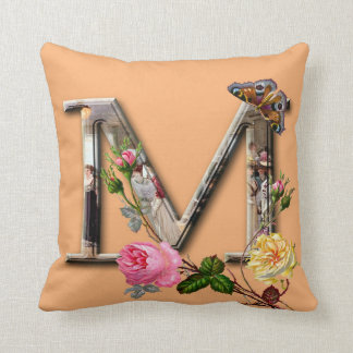 Almofada Monograma floral