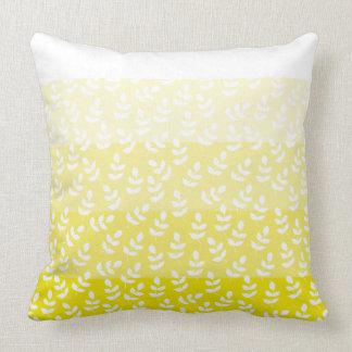 Almofada Multi folha amarela