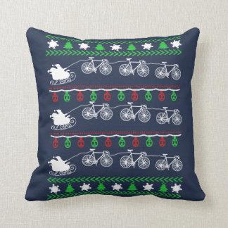 Almofada Natal do ciclismo