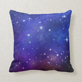 Almofada Noite estrelado mágica sonhadora gloriosa do *~*