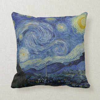 Almofada Noite estrelado Vincent van Gogh