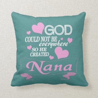 Almofada O deus criou Nana