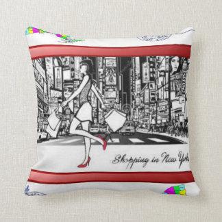 Almofada o travesseiro decorativo desnucleia o newyork