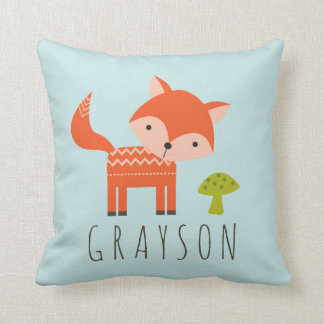 Almofada O travesseiro decorativo personalizado Fox pequeno