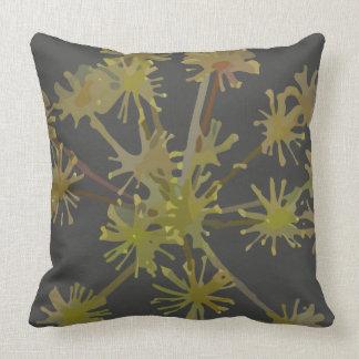 Almofada O verde estoura o travesseiro decorativo