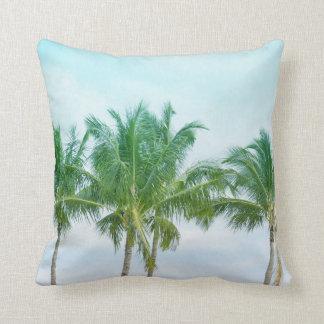 Almofada Palmeiras tropicais de Havaí