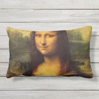 Almofada Para Ambientes Externos Mona Lisa por Leonardo da Vinci