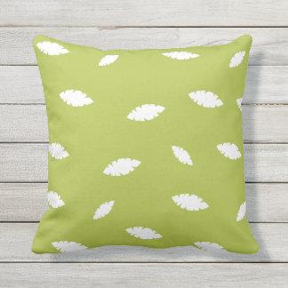 Almofada Para Ambientes Externos Travesseiro decorativo exterior floral verde