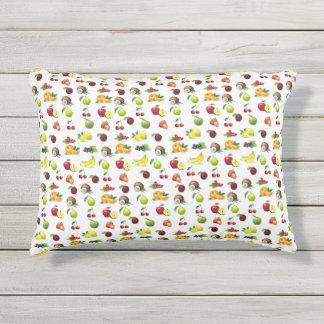 Almofada Para Ambientes Externos Travesseiro do impressão da fruta
