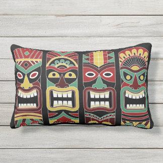 Almofada Para Ambientes Externos Travesseiros decorativos legal dos Totems de Tiki