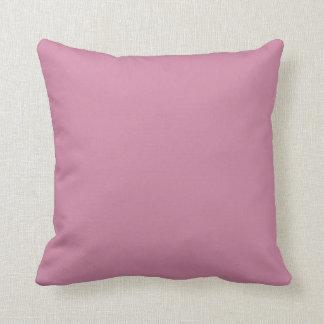 Almofada Parte traseira do rosa de arco-íris do watercolour