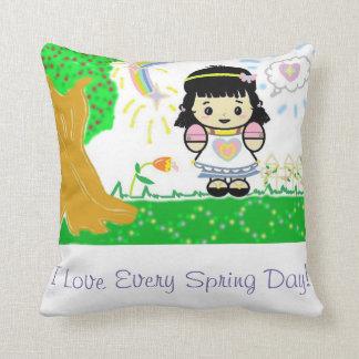Almofada Primavera Loving da menina