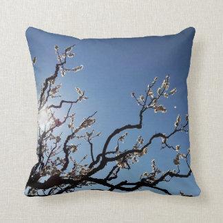 Almofada Ramo de árvore de florescência