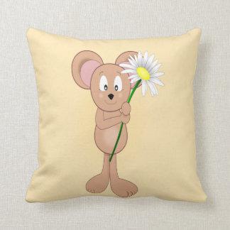 Almofada Rato com flor