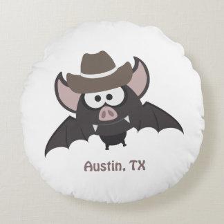 Almofada Redonda Bastão do vaqueiro de Austin Texas