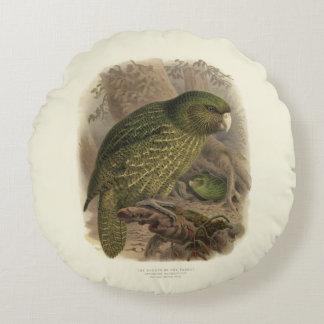 Almofada Redonda Coxim redondo do Kakapo