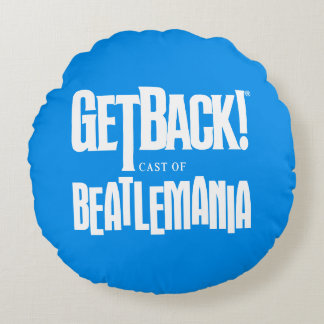 Almofada Redonda GetBack! Travesseiro decorativo redondo do