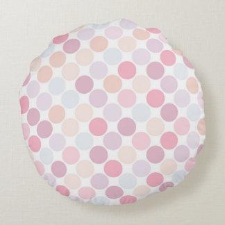 Almofada Redonda Travesseiro decorativo redondo das bolinhas