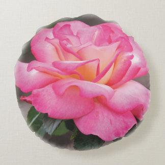 Almofada Redonda Travesseiro decorativo redondo do rosa do rosa