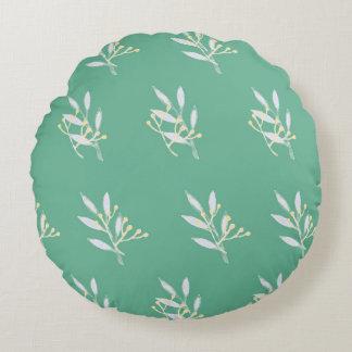 Almofada Redonda Travesseiro decorativo redondo do teste padrão