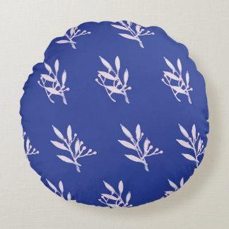 Almofada Redonda Travesseiro decorativo redondo do teste padrão da