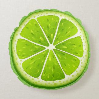 Almofada Redonda Travesseiro-Limão redondo do lance