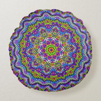 Almofada Redonda travesseiro Multi-colorido