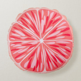 Almofada Redonda Travesseiro redondo da fruta do divertimento