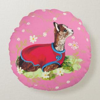 Almofada Redonda Travesseiro redondo do aniversário bonito da