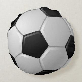 Almofada Redonda Travesseiro redondo do design da bola de futebol