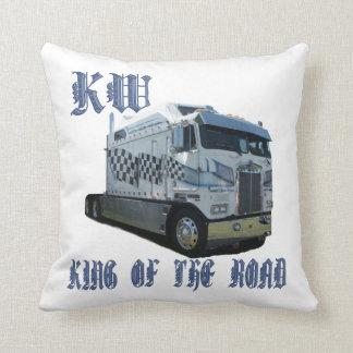 Almofada Rei do quilowatt do travesseiro decorativo da