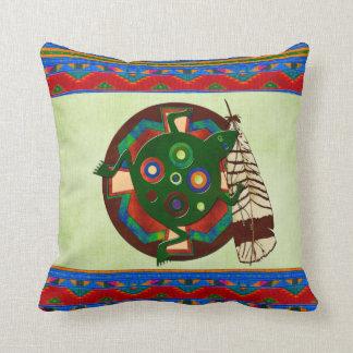 Almofada Sapo da arte popular do nativo americano