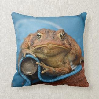Almofada Sapo do azul do amor de Toadly