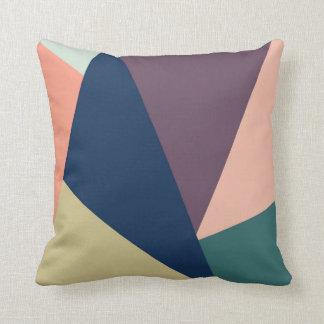 Almofada Travesseiro abstrato da cor