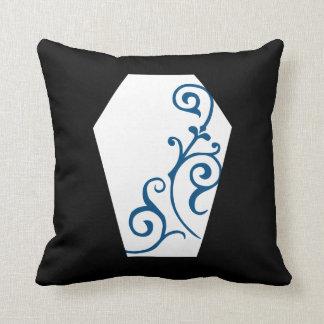 Almofada Travesseiro (azul) do ébano de Keranda