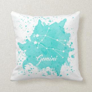 Almofada Travesseiro azul dos Gêmeos