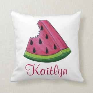 Almofada Travesseiro cor-de-rosa personalizado da fruta da
