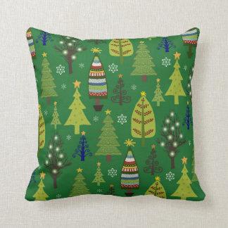 Almofada Travesseiro da árvore de Natal