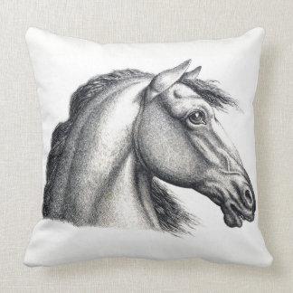 Almofada Travesseiro da cabeça de cavalo