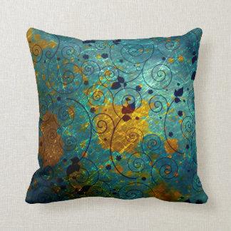Almofada Travesseiro da decoração do abstrato do rolo do