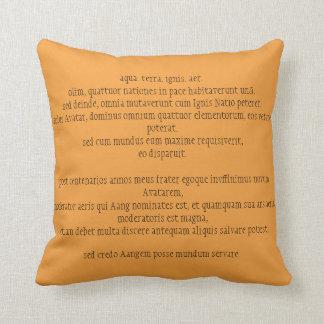 Almofada Travesseiro da mostra das crianças Latin