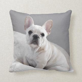 Almofada Travesseiro de creme de Frenchie