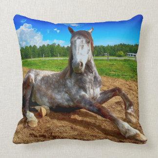 Almofada Travesseiro de descanso do cavalo