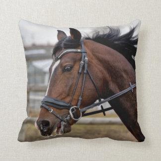 Almofada Travesseiro decorativo bonito do cavalo