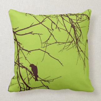Almofada Travesseiro decorativo bonito do marrom do verde