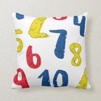 Almofada Travesseiro decorativo colorido preliminar