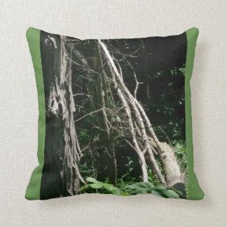 Almofada travesseiro decorativo da camuflagem do verde de